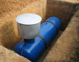 Подземные газгольдеры